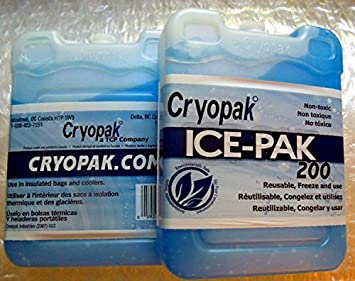 Amazon.com: Cryopak ICE-PAK 200 - 2 pks by Cryopak: Health ...