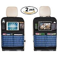 SLEEPING LAMB Waterproof Kick Mats Car Seat Back Protectors