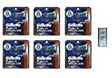 Fusion Pro-glide Refill Cartridge Blades, 48 count , (6 pack of 8) Made In Germany w/ Free Loving Care Trial Size Conditioner