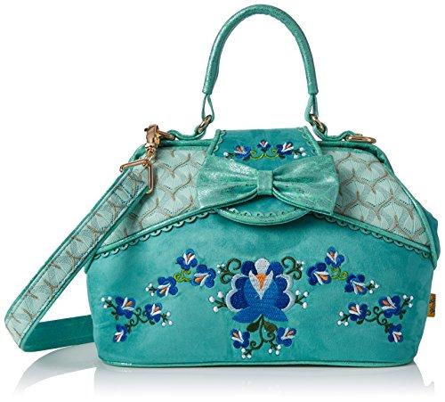 Irregular Choice Field Of Dreams Bag - Bolsos de mano Mujer Verde (Mint)