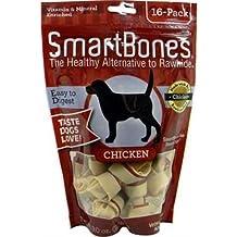 SmartBones Chicken Dog Chew, Mini, 16-count by Smart Bone [Pet Supplies]