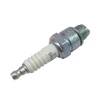Sharplace Vela B7HS 5110 para Motor Fueraborda Compatible con Barco 2 tiempos 15 HP: Amazon.es: Coche y moto
