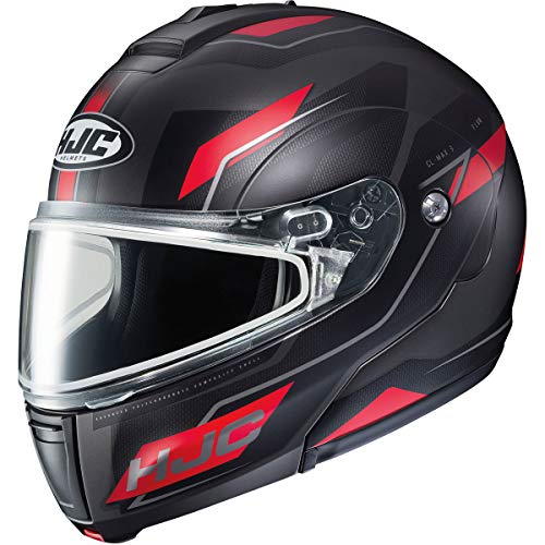 - HJC CL-Max 3 Flow Men's Snowmobile Helmet - MC-1SF / Medium