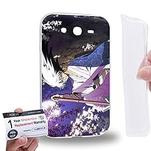 Case88 [Samsung Galaxy Grand Duos i9082 i9080] Gel TPU Carcasa/Funda & Tarjeta de garantía - Nura: Rise of the Yokai Clan Rikuo Nura 1656