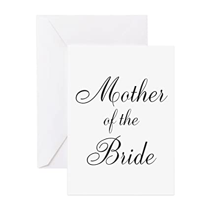 Amazon cafepress mother of the bride black scr greeting cafepress mother of the bride black scr greeting card note card birthday m4hsunfo