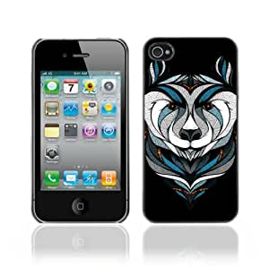 Designer Depo Hard Protection Case for Apple iPhone 4 4S / Cool Bear Tattoo