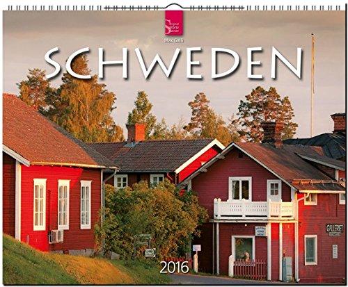 Schweden 2016: Original Stürtz-Kalender - Großformat-Kalender 60 x 48 cm [Spiralbindung]