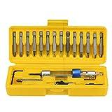 HANYI 20Pcs/Kit High Speed Half Time Drill 20bits Drill Driver Head Screwdriver Tools