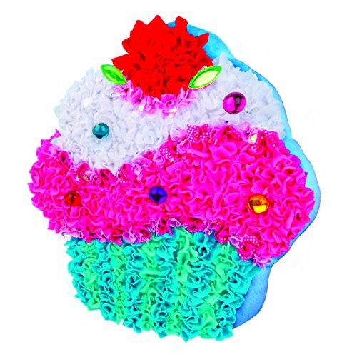 PlushCraft Cupcake Pillow Craft Kit Christmas Gift 4 Girl 6+ Years No Need 2 Sew supply:hadaso-40 by manrojoytion