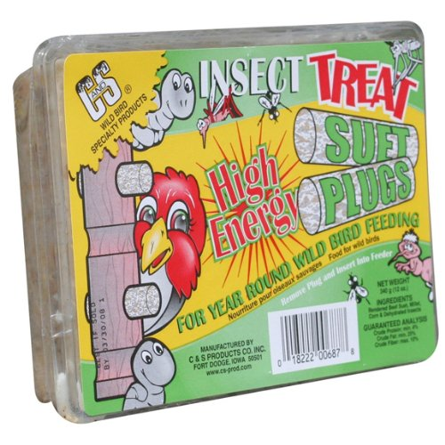 CandS 12687 Insect Treat High Energy Suet, 12-Ounce, My Pet Supplies