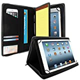 khomo dual case ipad air 2 - KHOMO Universal Tablet Padfolio Zippered Case for 8.5'' up to 11'' tablets - Carbon Fiber - Compatible with iPad Air, Pro (9.7 and 10.5) and many others