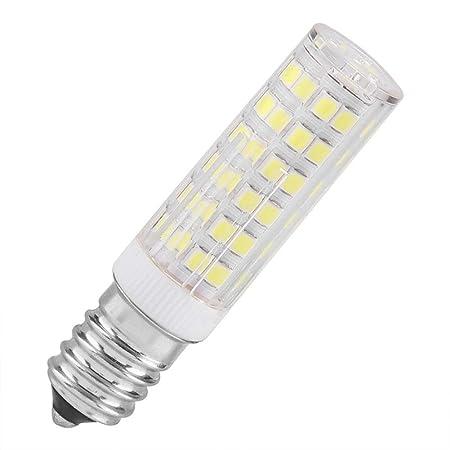 Riuty Bombilla LED de cerámica E14, para electrodomésticos ...