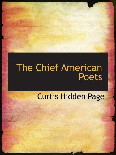 Download The Chief American Poets PDF