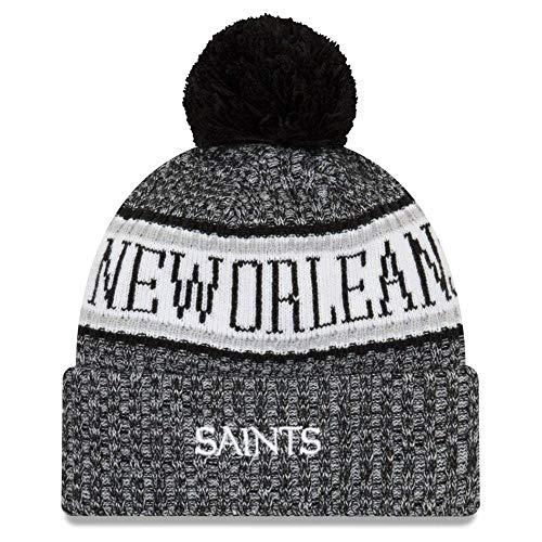 nbsp;Bobble A ERA Orleans nbsp;Gorro Saints NEW Sideline 2018 nbsp;– NFL nxnRr