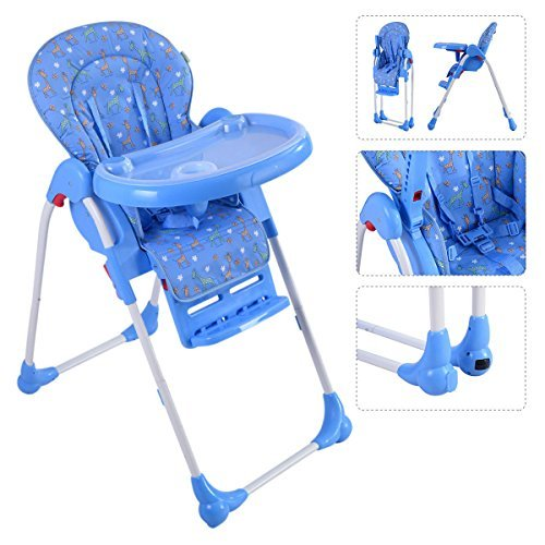BABY 1ST BOOSTER SEAT WITH PLAY TRAY, BLUE - 9