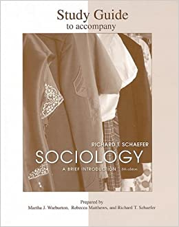 Amazon sociology a brief introduction 8th edition amazon sociology a brief introduction 8th edition 9780071280846 richard t schaefer books fandeluxe Gallery