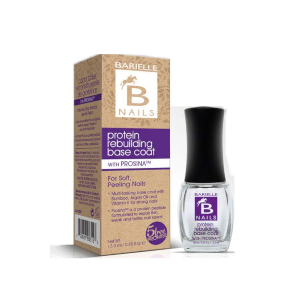 Barielle B Nails Protein Rebuilding Base Coat with Prosina .45 oz. Fiske Industries
