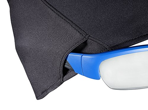 Salomon, Bandeau Multisport Unisexe, Coupe-Vent, Lunettes Compatibles, Réfélchissant, Training Headband Noir