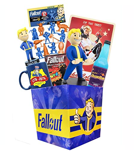 Toynk Fallout LookSee Box with Nanoforce Figures|Cable Guy|Nuka Cola by Jones -