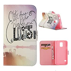 Galaxy S5,S5 Case,Galaxy S5 Case,Samsung Galaxy S5 Case,Samsung S5 Case,Creativecase Fashion Style Magnetic PU Leather Stand Case Flip Protective Case for Samsung Galaxy S5 I9600 Q04