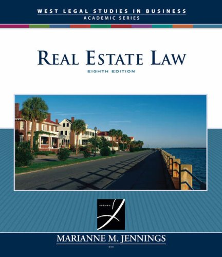 Real Estate Law (West Legal Studies in Business Academic)