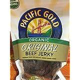 Pacific Gold Premium Cuts Organic Beef Jerky, 12oz