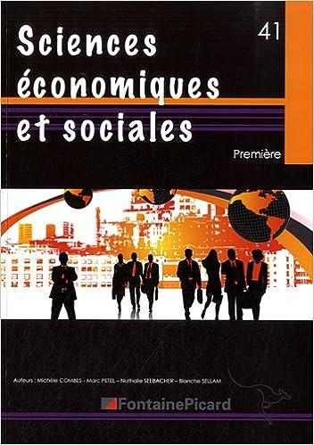 Téléchargement Sciences économiques et sociales 1e epub, pdf
