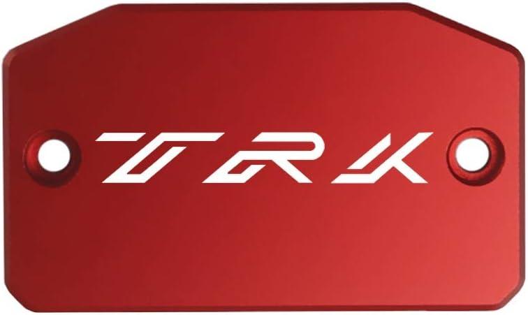 Color : Red MUJUN Spare CNC Aluminum Alloy Motorcycle Brake Fluid Fuel Reservoir Tank Cover Cap FOR BENELLI TRK502 TRK 502 2018