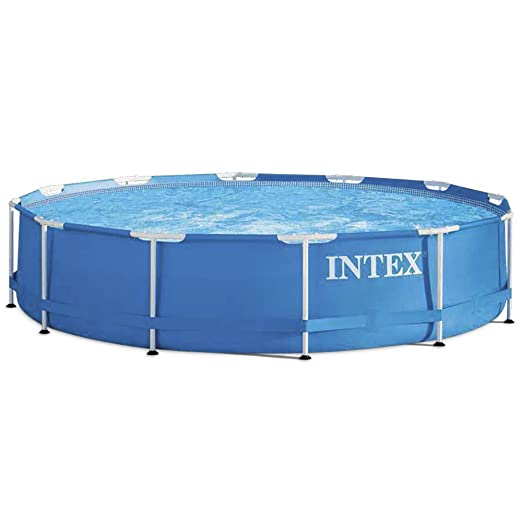 Intex Metal Frame - Piscina Desmontable, 366 x 76 cm, 6, 503 l ...