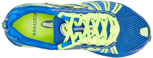Brooks Racer St 5, Chaussures de Running Entrainement Adulte Mixte, Bleu (electric/nightlife/white), 40