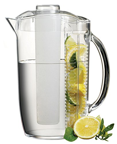 Prodyne ICED Fruit Infusion Pitcher, Clear - Infusion Tube
