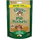 Greenies Feline Pill Pockets Cat Treats Chicken Flavor, 3 Ounce Value Size Bag