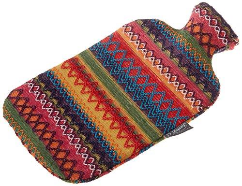 Fashy 6757 25 Wärmflasche 2.0 Litre mit Bezug im Peru-Design