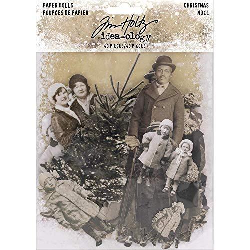 Idea-ology Paper Dolls Die-cuts 43/pkg-christmas]()