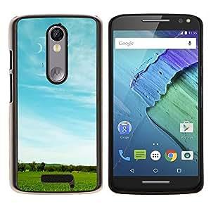 For Motorola Droid Turbo 2 / Moto X Force Case , el desierto de Gobi- Diseño Patrón Teléfono Caso Cubierta Case Bumper Duro Protección Case Cover Funda