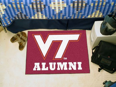 (FANMATS 18350 Virginia Tech Alumni Starter Rug (19