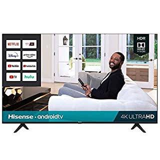 Hisense 50-Inch Class H6570G 4K Ultra HD Android Smart TV with Alexa Compatibility (50H6570G, 2020 Model)