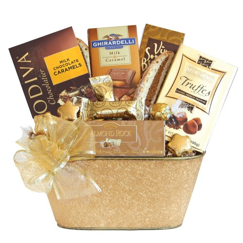Gift Baskets And Chocolates (California Delicious Holiday Gold Rush Chocolate Gift)