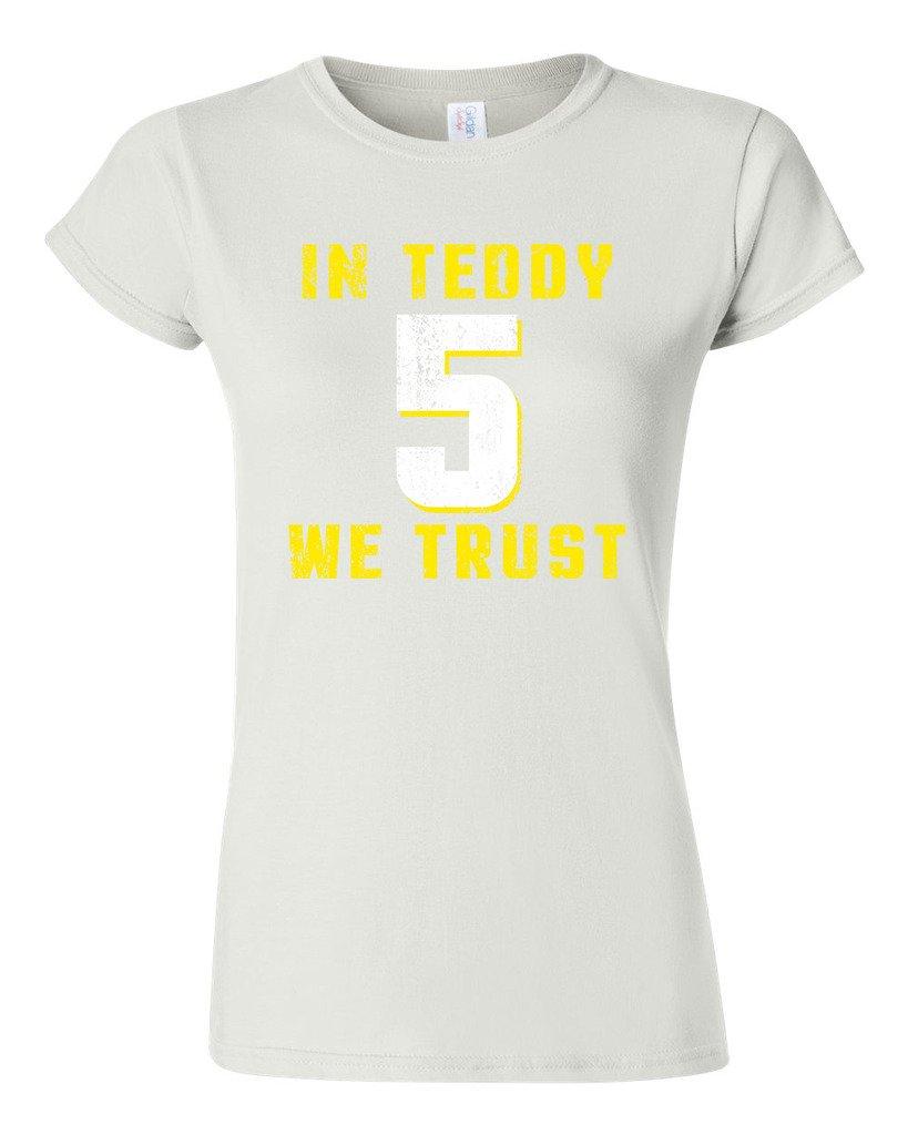 In Teddy We Trust Quarterback Sports Football Dt Shirts