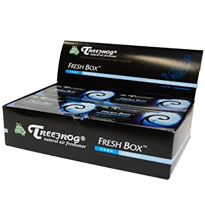 Treefrog Xtreme Fresh Air Freshener Black Squash Scent 3 Packs: Automotive