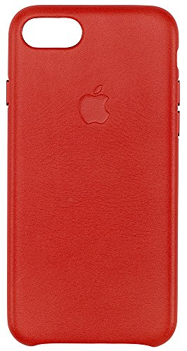 Price comparison product image Apple Leather Case for iPhone 7 - Red