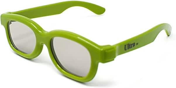 Ultra 2 Par de Verde Gafas 3D Pasivo para Niños para Uso con Todas ...