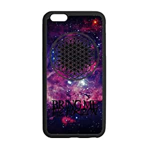 Fashion Bring Me to The Horizon Protective Rubber Gel Coated Case Cover for iPhone 6 Plus