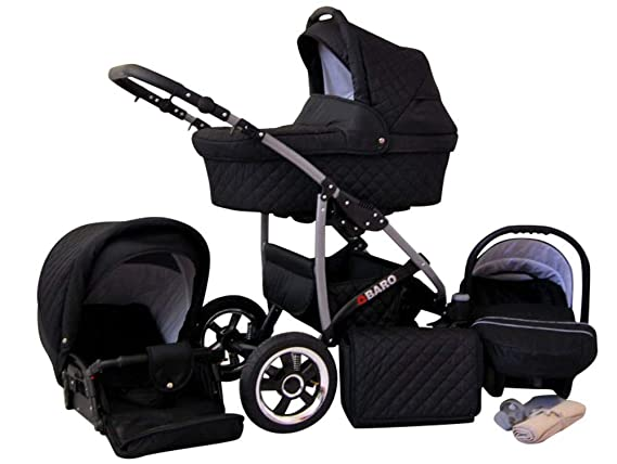 SaintBaby Cochecito carritos Q-Step 2in1 3in1 Todo en un ...