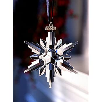 Swarovski 2006 Annual Snowflake / Star Christmas Ornament - Amazon.com: Swarovski 2006 Annual Snowflake / Star Christmas