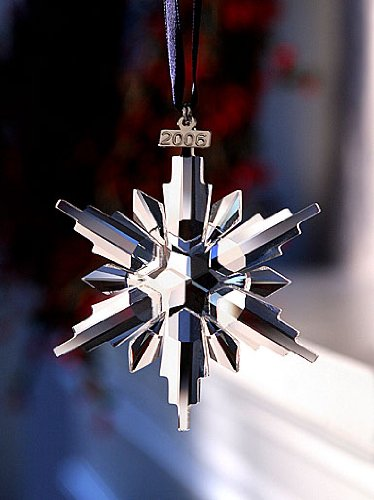 Swarovski 2006 Annual Snowflake / Star Christmas Ornament