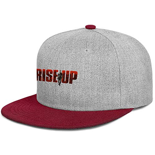 KylA Forster Unisex Snapback Walking Dead Rick Flat-Brim, used for sale  Delivered anywhere in Canada