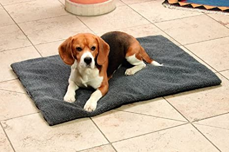 Karlie - Tumbona Cama Cama para perros Perros Cojín Cojín techo 70 cm x 95 cm gris # 66699: Amazon.es: Productos para mascotas
