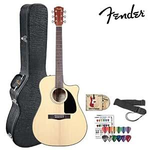 fender cd 60ce natural 096 1536 221 acoustic electric guitar kit includes hard. Black Bedroom Furniture Sets. Home Design Ideas