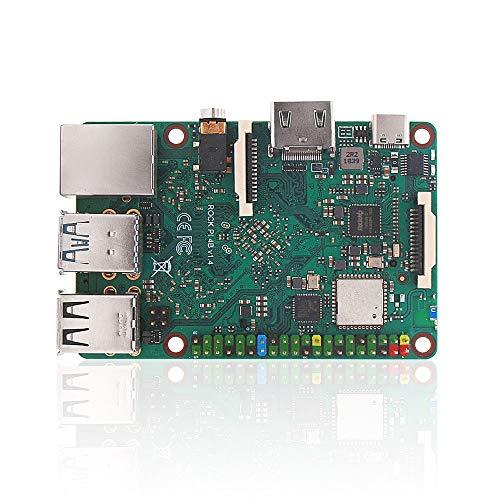 youyeetoo Rock PI 4A/B V1.4 Rockchip RK3399 ARM Cortex Six Core SBC/Single Board Computer Compatible with Official Raspberry Pi Display (RCKPi4B-4G)